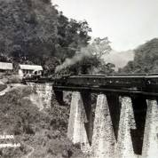 Puente de Metlac del Ferrocarril Central Mexicano ( Circulada el 23 de Junio de 1921 ).