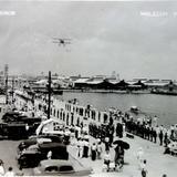 Valla de honor en el Malecon ( Circulada el 25 de Octubre de 1936 ).