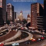 Paseo de La Reforma Ciudad de México 1972