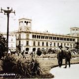 Plaza de La Constitucion ( Circulada el 8 de Mayo de 1930 ).