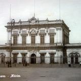 Estacion del Ferrocarril Mexicano.