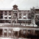 Estacion Colonia del Ferrocarril Mexicano  ( Circulada el 5 de Diciembre de 1929 ).