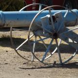 Cañones de la época revolucionaria en el Fuerte Apache. Marzo/2018