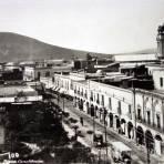 La Plaza Constitucion.
