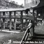 Escalera Puende del Balneario de San Jose Porrua.