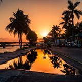 Atardecer en Tuxpan, Veracruz.