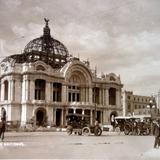 Palacio de Bellas Artes ( Circulada el 3 de Diciembre de 1921 ).