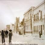 Avenida Balderas Durante la Decena Trágica (1913).