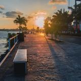 El Boulevard bañado en luz del sol.