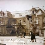 Casa de la senora Teheran Ciudad de México durante La decena tragica ( 1913 ).