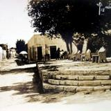 Jardin y Calle. - Monclova, Coahuila