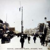 Concurso Floral por el fotografo Felix Miret (Fechada el 28 de Abril de 1907 ).