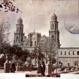La Parroquia de Hermosillo Sonora ( Circulada el 29 de Abril de 1908 ).