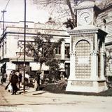 El reloj Turco Por el Fotógrafo Hugo Brehme.  ( Circulada el 9 de Enero de 1928 ).