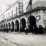 Portal de La Paz.