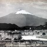 Volcan Popocatepetl.