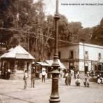 Tranvia sirviendo la ruta Tacubaya El Zocalo Ciudad de México,.