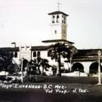 Hotel playa Ensenada ( Circulada el 16 de Noviembre de 1941 ).