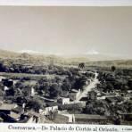 Vista desde el Palacio de Cortes al Oriente Foto de L. Cuevas.