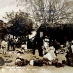 Tipos Mexicanos Vendedores de el mercado ALCALDE ( Circulada el 26 de Septiembre de 1928 ).