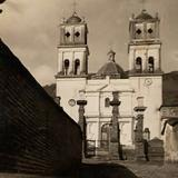 El Santuario del Sagrado Corazón en 1950. (Cortesía: Francisco Esparza)