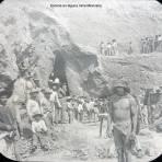 Escena en alguna mina Mexicana.