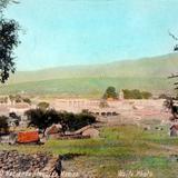 Vista de de La Hacienda de Atequiza, Jalisco por Charles B. Waite.