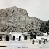 Escena callejera Tepoztlán, Morelos 1956.