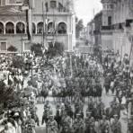 Fiestas Patrias desfile Septembrino de 1919.