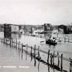 Llanos del golfo inundados ( Circulada el 22 de Octubre de 1928 ).