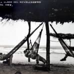 Hamacas en la playa de el revolcadero.
