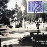Un detalle de la Alameda (Circulada el 7 de Juliode 1930 ).