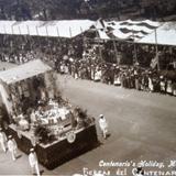 Desfile del primer centenario de la Independencia de Mexico 16 de Septiembre de 1910