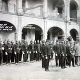 El cuerpo de bomberos de la Ciudad de México.