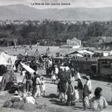 La feria de San Juanico Oaxaca ( Circulada el 3 de Febrero de 1936 ).