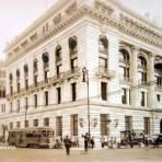 Edificio del Banco de México. Ciudad de México.