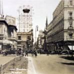 Avenida Madero de la Ciudad de México.