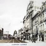 Avenida Juarez. - Ciudad de México, Distrito Federal