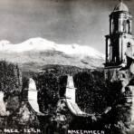 Volcan Iztaccíhuatl.
