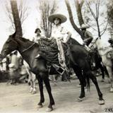 Tipos Mexicanos tipicaChina Poblana ( Circulada el 17 de Diciembre de 1930 ).