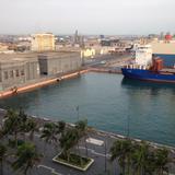 Muelles del Puerto de Veracruz. Junio/2018