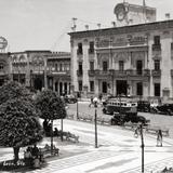 Palacio municipal y plaza principal