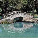 Lago en la ex Hacienda de San Miguel Regla