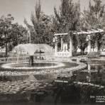 Fuente central del parque Chapalita