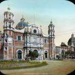 La Villa de Guadalupe Hidalgo por el fotorgafo C B Waite 1904.