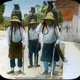 Aguadores de Guanajuato por el Fotógrafo Charles B. Waite.