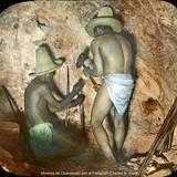 Mineros de Guanajuato por el Fotógrafo Charles B. Waite.