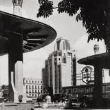 Pérgola de la Alameda y Edificio La Nacional