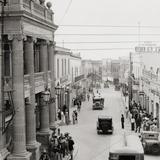 Calle Aldama y Teatro García Carrillo