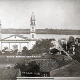 Vista panorámica hacia la Catedral del Tampico